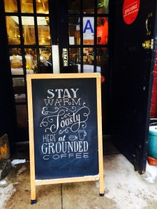 sign art at Grounded
